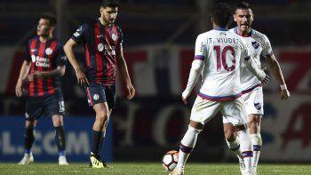 El equipo del Pampa Biaggio se despidió en Uruguay de la Copa. No aguantó la ventaja de 3 a 1 alcanzada en la ida.