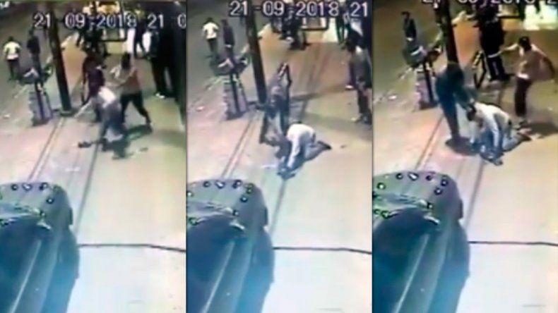 Una patota mató a un vendedor ambulante