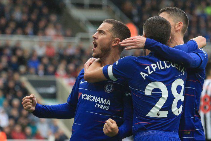 Mirá el tremendo golazo de Eden Hazard al Liverpool