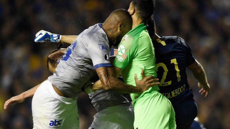 La Conmebol hizo lugar a la protesta del Cruzeiro y Dedé podrá jugar la revancha