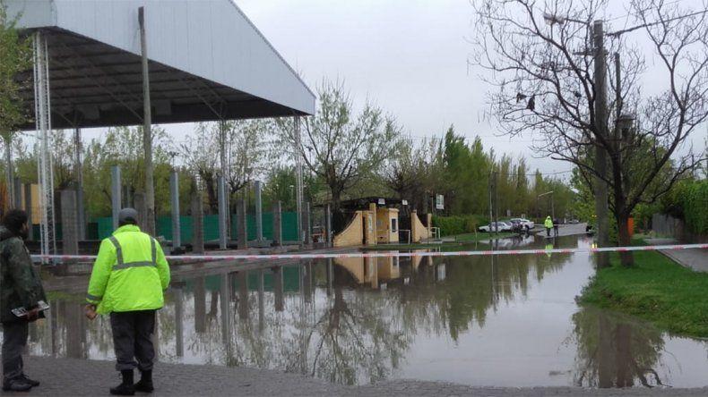 Se llovió todo: cayeron 22 milímetros en doce horas y la Muni asistió a 20 familias