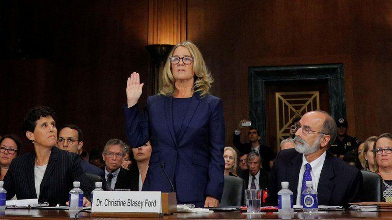 Christine Blasey contó detalles del abuso que sufrió en 1982.