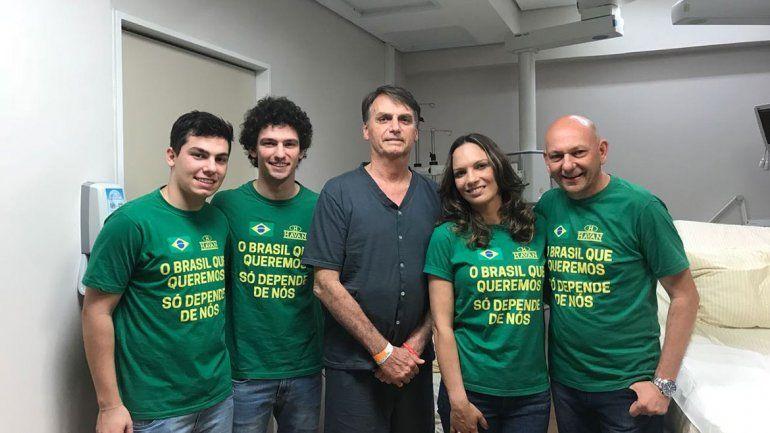 El candidato de extrema derecha no quiere el matrimonio gay en Brasil.