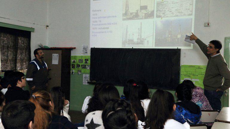 YPF destacó la curiosidad y el interés demostrados por los alumnos.