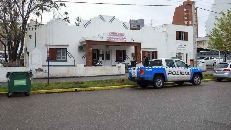 Se cayó el techo de la Comisaría del Menor