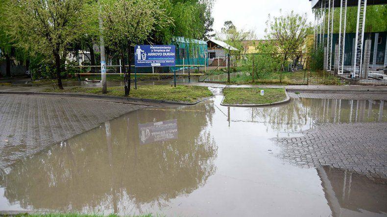 Asistieron a 20 familias por las intensas lluvias