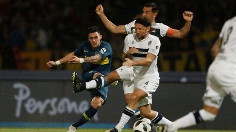 Gimnasia venció 1 a 0 a Boca en Córdoba y lo eliminó de la Copa