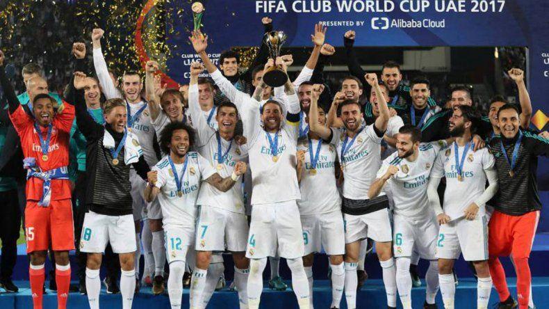 Real Madrid ganó el último certamen.