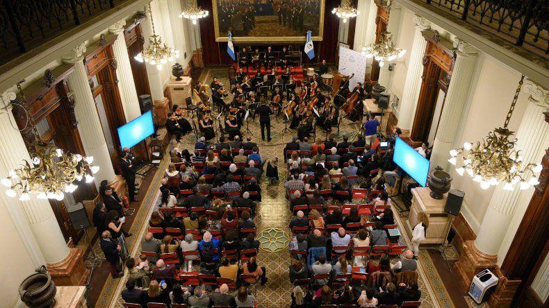 Así fue la presentación de la Sinfónica en el Congreso