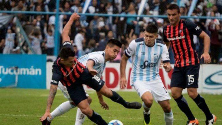 Por el temporal, se suspendió San Lorenzo-Atlético Tucumán