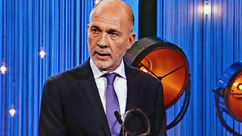 Dario Grandinetti premiado como mejor actor en el Festival de San Sebastián