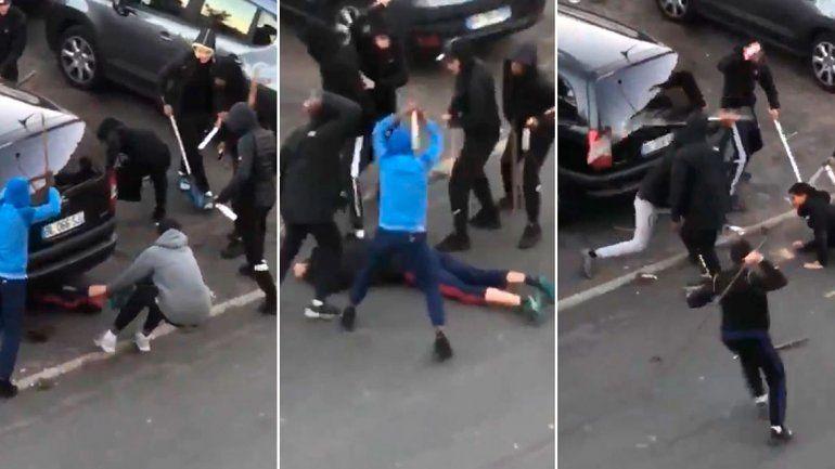 Pandilla atacó a un chico de 17 años: está grave