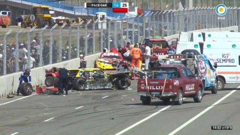 En una accidentada carrera, Santero se quedó con la victoria