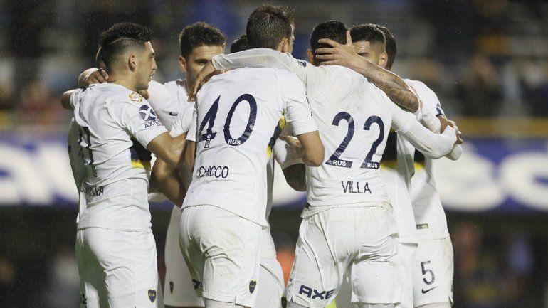 Boca recuperó la sonrisa: le ganó sin sobresaltos a Colón por 3 a 1