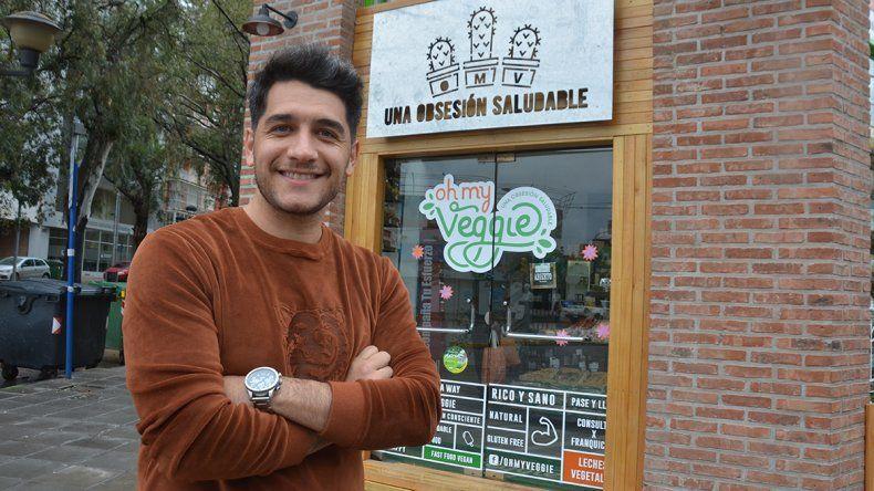 Mc Vegano neuquino se expande en todo el país