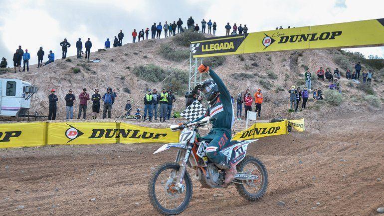 Juan Pablo Luzzardi le puso el broche al Argentino con un triunfo en las dos carreras de ayer.