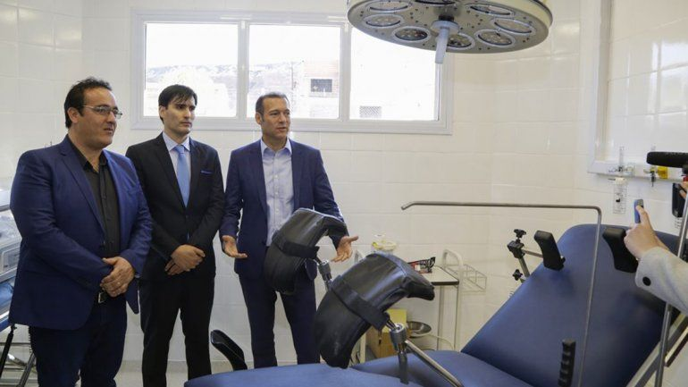 Gutiérrez inauguró el hospital en Añelo