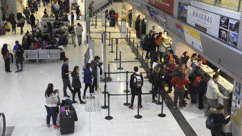 hubo un aumento del 24% de los pasajeros en el aeropuerto
