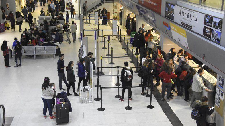 El aeropuerto neuquino creció un 24% en enero