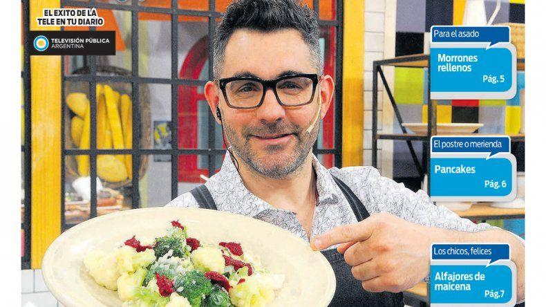 Cocineros Argentinos te enseña el plato ideal para arrancar la primavera