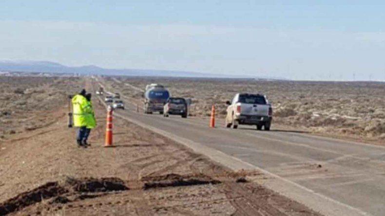Policía borracho y con parte médico volcó en la Ruta 22