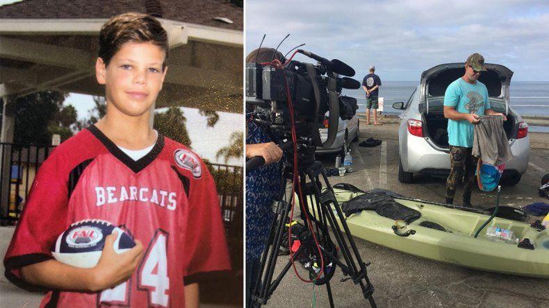 Tiburón atacó a un chico de 13 años: zafó de milagro