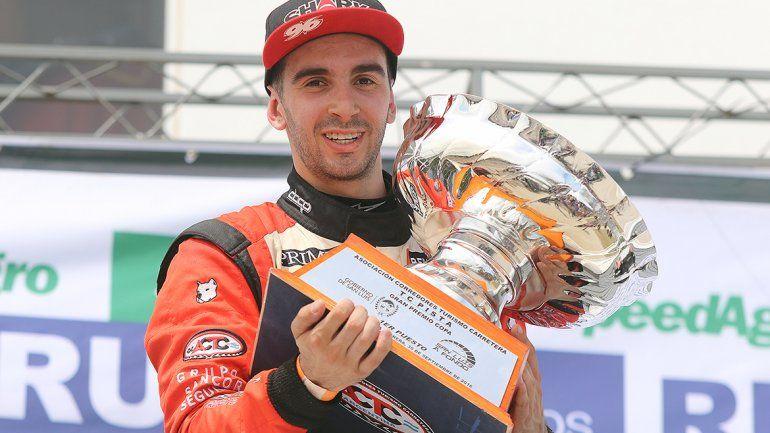 Benvenuti ganó en La Pedrera y es líder en el TC Pista