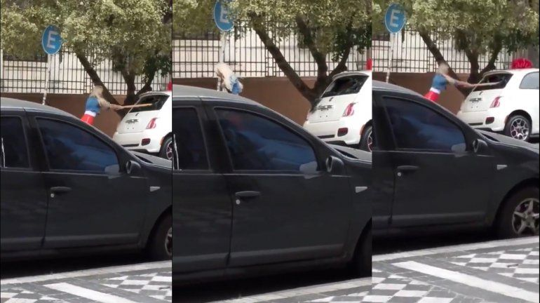 El video de Sol Pérez rompiendo un 0 Km ¿que le regalaron?