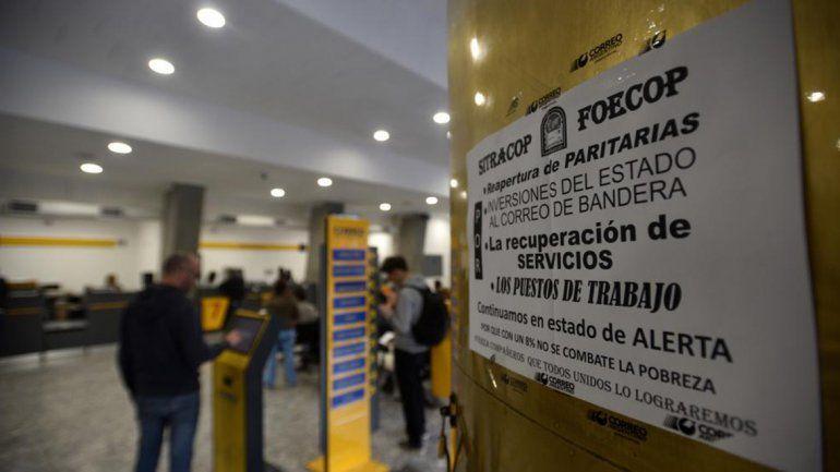 Paro en Correo Argentino afecta la distribución de correspondencias