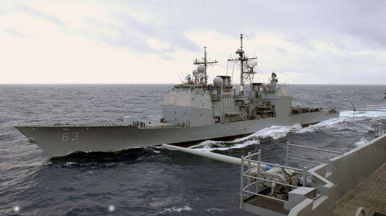 Tensión en las aguas entre China y EE.UU.