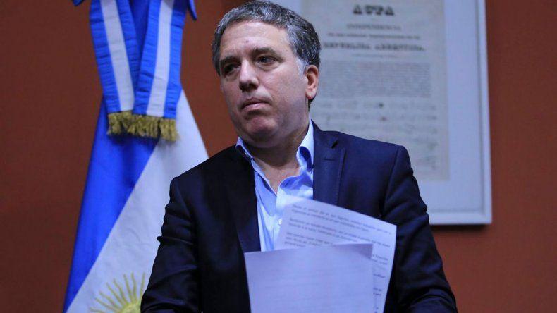 Nicolás Dujovne: La economía argentina estará en recesión