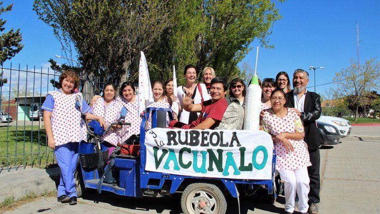 El vacunatorio quedó habilitado para la gente de Senillosa.