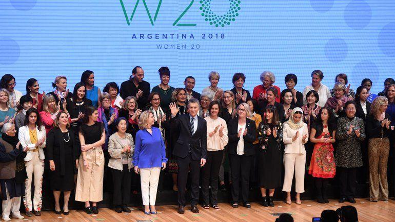 Macri destacó la agenda sobre género que lleva adelante su gobierno.