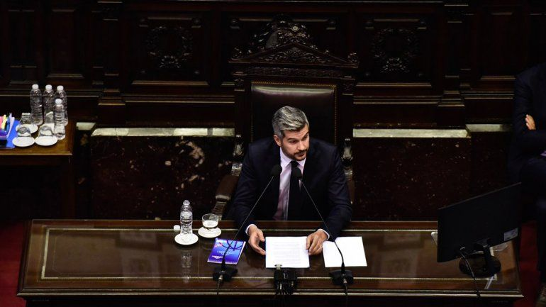 En su informe ante Diputados, Marcos Peña remarcó que el país atraviesa una situación difícil