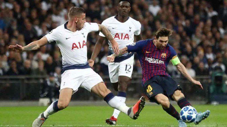 Con un Messi intratable, Barcelona le ganó 4 a 2 a Tottenham