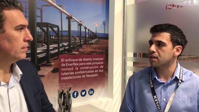 Conocemos Enerflex: tratar el gas del pozo para generar energía