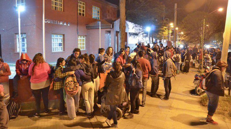 Acusaron a los jóvenes que realizaron disturbios en el MNBA