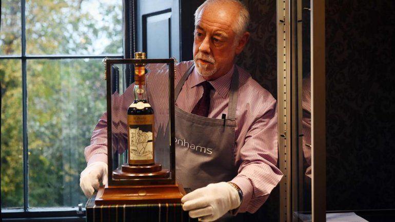 El whisky que bate récords: una botella se vendió en 947.000 euros