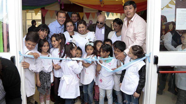 Una escuela de Rincón de los Sauces estrenó nuevo edificio