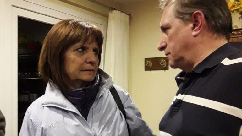Patricia Bullrich y Roberto Torres Majdalani.
