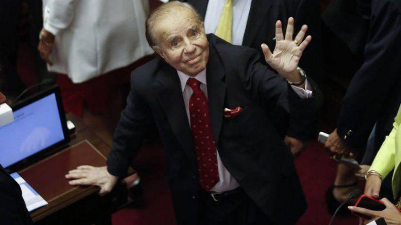 El ex presidente fue absuelto en una causa que se inició en 1995.