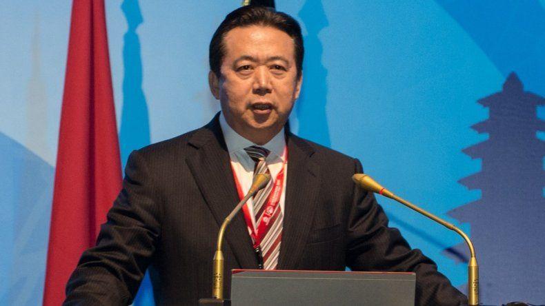 Desapareció el chino Hongwei Meng, presidente de Interpol