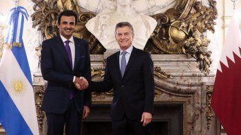Macri quiere que Qatar se sume al desarrollo de Vaca Muerta