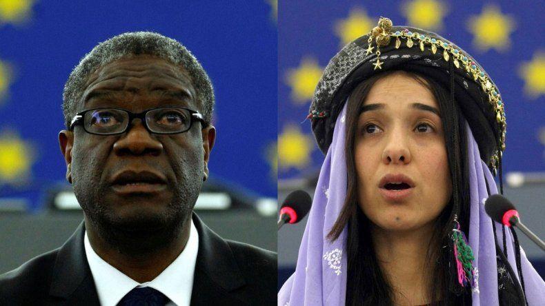 El Nobel de la Paz, para dos luchadores contra la violencia sexual