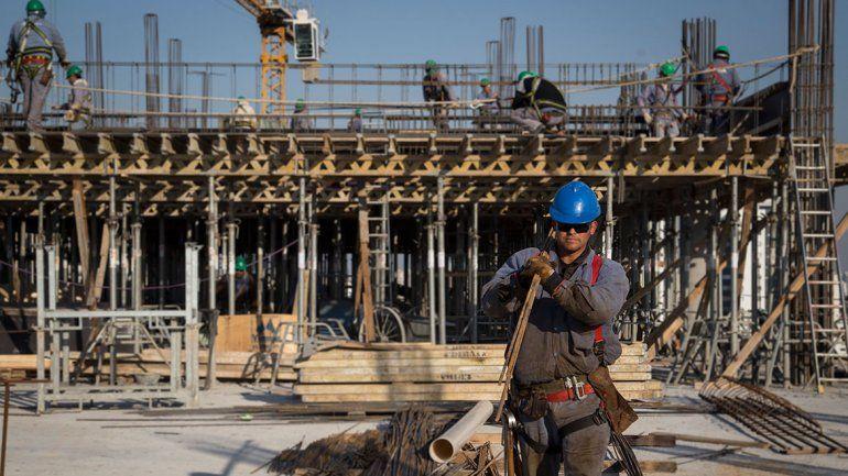 Por día, se construyen 750 metros cuadrados