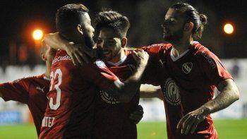 Independiente salió de la racha negativa y le ganó a Patronato