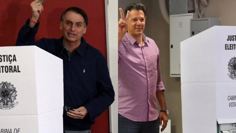Contundente triunfo de Bolsonaro pero habría segunda vuelta