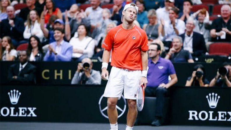Perdió el peque Schwartzman en el ATP 1000 de Shanghai