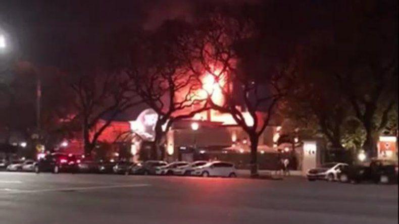 Se incendió un reconocido restaurante porteño