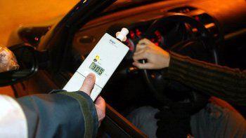 borrachos al volante: detectaron 38 alcoholemias durante el finde